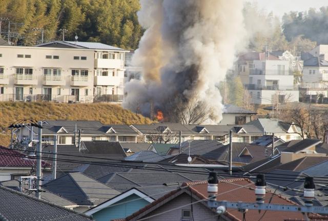 株式会社ジャストライト浪岡智がお送りする火災事故のイメージ画像